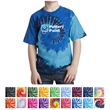 Port & Company Youth Tie-Dye Tee - 5.4 oz. youth tie-dye t-shirt made from 100% cotton, CPSIA tracking label compliant