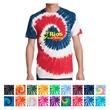 Port & Company Tie-Dye Tee - 5.4 oz. tie-dye t-shirt made from 100% cotton, available in several colors blends