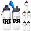 Locking 32 oz. Bottle - 32 oz. refillable water bottle Includes locking lid with lanyard