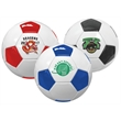 Full Size Synthetic Leather Soccer Ball - Full size synthetic leather soccer ball, size 5, 32 panels.