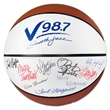 Full Size Signature Basketball - Full size synthetic leather signature basketball with white autograph panels.