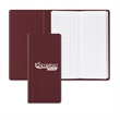 Trifold Tally Book - Trifold tally book with a sewn 200-page paper pad and three-panel construction.