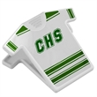T-shirt Shape Magnet Clip - This is a T-shirt shape magnet memo clip; it is made of ABS plastic.