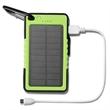 Solar Power Bank 6000mAh with LED Flashlight