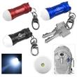 Mini Glowing Bubble Tip LED Aluminum Keylight