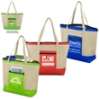 Country Aire Oversized Zippered Tote Bag