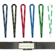 """3/4"""" Recycled Fast Track Lanyard - 3/4"""" x 36"""" lanyard with either a metal J-hook or bulldog attachment and plastic breakaway; made from recycled PET material."""