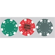 Clay Poker Chips, 11.5 gram - Choose from 3 styles of these Casino Quality Poker Chips