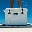White YETI Tundra 35 Cooler - This AUTHENTIC YETI Tundra 35 is a portable and durable cooler that is great for a small excursion.