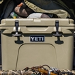 Tan YETI Tundra 35 Cooler - This AUTHENTIC YETI Tundra 35 is a portable and durable cooler that is great for a small excursion.