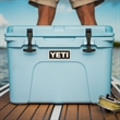 Blue YETI Tundra 35 Cooler - This AUTHENTIC YETI Tundra 35 is a portable and durable cooler that is great for a small excursion.