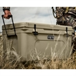 Tan YETI Tundra 65 Hard Cooler - This AUTHENTIC YETI Tundra 65 Cooler is a large durable cooler great for anything outdoors.