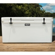White YETI Tundra 75 Hard Cooler - This AUTHENTIC YETI Tundra 75 Cooler is a large durable cooler great for anything outdoors.