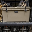 Tan YETI Tundra 75 Hard Cooler - This AUTHENTIC YETI Tundra 75 Cooler is a large durable cooler great for anything outdoors.