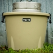 Large Tan YETI Ice Bucket - This AUTHENTIC YETI tan ice bucket is a large ice bucket great for any excursion or occasion.