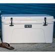 White YETI Tundra 65 Hard Cooler - This AUTHENTIC YETI Tundra 65 Cooler is a large durable cooler great for anything outdoors.