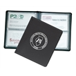 """Business Card Holder - 48 - Vinyl business card holder measuring 5-1/4"""" x 4-1/2"""" closed with 48 card slots."""