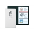 """Business Card Holder - 72 - Vinyl business card holder measuring 7-3/4"""" x 4-9/16"""" closed with 72 card slots."""
