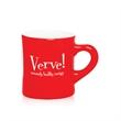 10 oz. Red Ceramic Diner Mug
