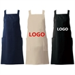 Poly Cotton Blend Custom Apron with Pockets