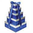 5 Tier Gourmet Gift Tower - 5-tier gourmet gift tower filled with an assortment of tasty treats.