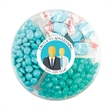 Small Sharable Acetate with Candy By Color Mix - Small shareable acetate filled with candy by color mix; includes salt water taffy, jelly beans and chocolate.