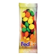 Full Color Tube DigiBags Filled with Skittles Candy