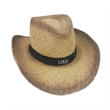 Summer Straw Cowboy Hat
