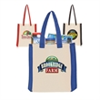 Side Stripes Cotton Tote Bags