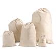 Cotton Drawstring Pouch - Multiple Sizes
