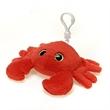 "6"" Red Crab Keychain"