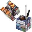Rubik's® Pen Pot - Pen pit with twistable blocks.