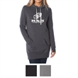 Independent Trading Company Juniors' Midweight Special Bl... - Midweight hooded pullover dress for juniors made of cotton/polyester fleece.