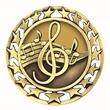 "2 1/2"" Music Star Medallion"