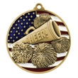 "2 3/4"" Cheer Patriotic Medallion -"
