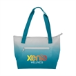 """Ombre Lunch Tote - Ombre style insulated lunch tote with front zippered pocket and 20"""" handles"""