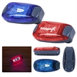 Clip-On Safety Light - Clip-on safety light made of ABS material with modes for a steady light or flashing strobe.