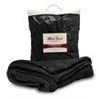 """MINK TOUCH LUXURY BLANKET - 60"""" x 72"""" blanket made of 300 g/sqm 100% polyester that comes in a vinyl zippered bag."""