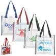 Clear PVC Stadium Tote Bag (NFL Compliant) - Clear PVC Stadium Tote Bag.