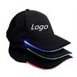 LED Light Up Fiber Baseball Cap