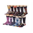 Combed Cotton Custom Knitted Dress Socks