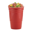 12 oz Let's Party Ceramic Cup Gift with Gourmet Jelly Beans - 12 oz. reusable ceramic party cup with Gourmet Jelly Beans.
