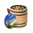 Wooden Barrel filled with Jelly Belly (R) Jelly Beans