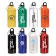 20 oz. Aluminum Water Bottle With Carabiner