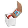 16 oz Brazilian double wall tumbler Gift Set w/hot chocolate - Gift box with a 16 oz. double wall tumbler and 5.5 oz. bag of Breakfast Blend coffee inside.