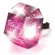 Light Up Ring - Pink Gem - LED - Light Up Ring - Pink Gem - LED