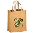 "Cyclone - Washable Kraft Paper Fabric Tote Bag - Screen - Washable Kraft Paper Fabric Tote Bag w/ Web Handle (8""x4""x10"") - Screen Print"