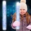 Light Up Foam Baton - Snowflake - Blue LED - Light Up Foam Baton - Snowflake - Blue LED