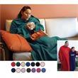 Hugme Blanket - Super soft fleece blanket. Large sleeve.  Stay warm & relax. Overseas.