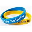 1/2 Inch Silicone Wristband